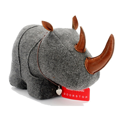 Rhino Doorstop Felt