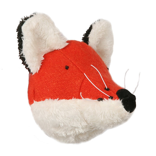 Mini Orange Foxy Wall Head