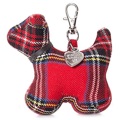Tartan Dog Keychain