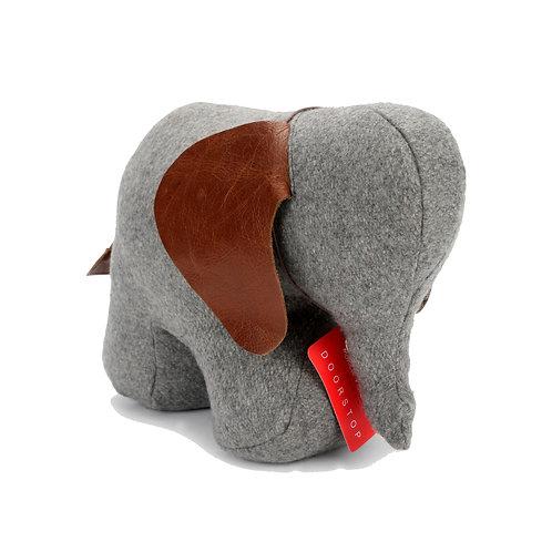 Elephant Doorstop Felt