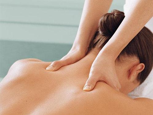 Presentkort Rygg, Nacke och Axlar Massage 30 minuter