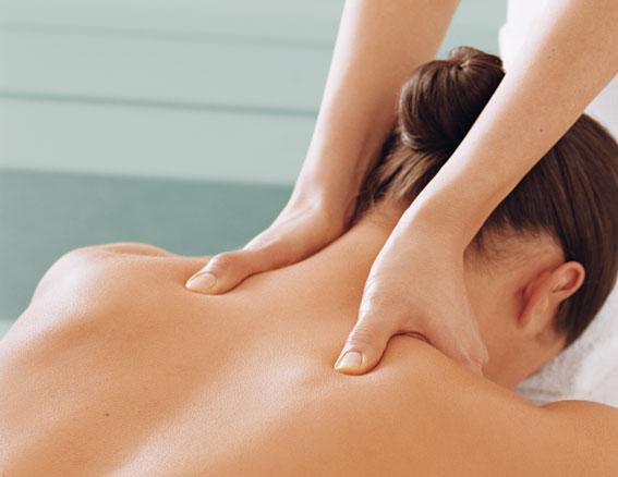 Rygg och Nacke Massage