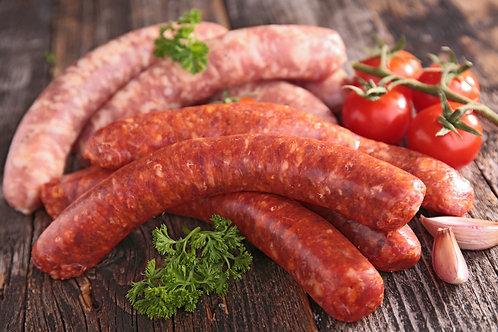 Colis saucisse traditionnelle 3kg 30€