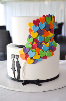 Engagement Cake Design 2