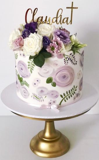 Christening Cake Design 5