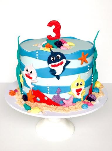 Kids Birthday Cake Design 2