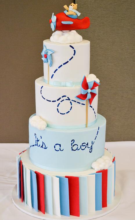 Baby Shower Cake Design 4