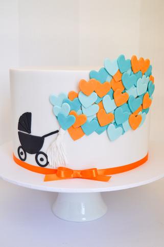 Baby Shower Cake Design 3