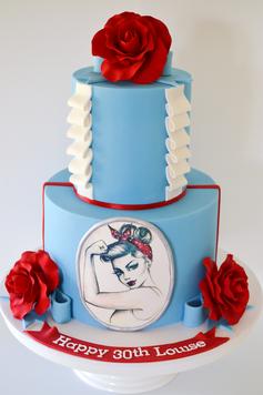 Adult Birthday Cake Design 23