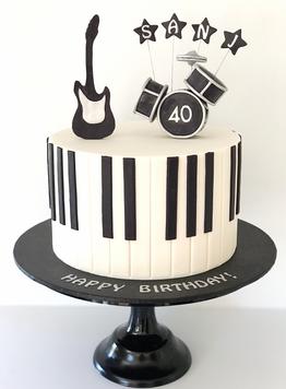 Adult Birthday Cake Design 24