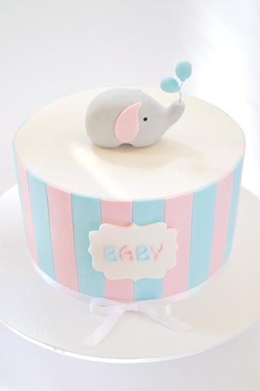 Baby Shower Cake Design 9
