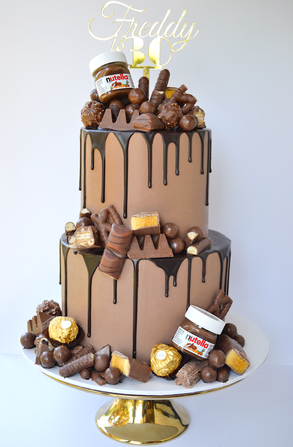 Adult Birthday Cake Design 2