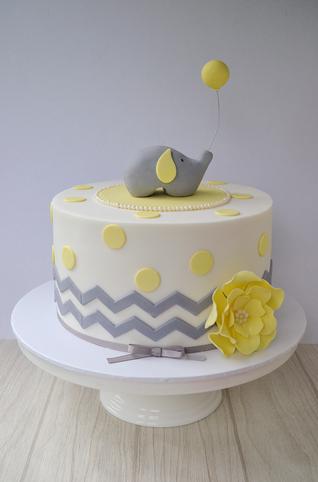 Baby Shower Cake Design 2