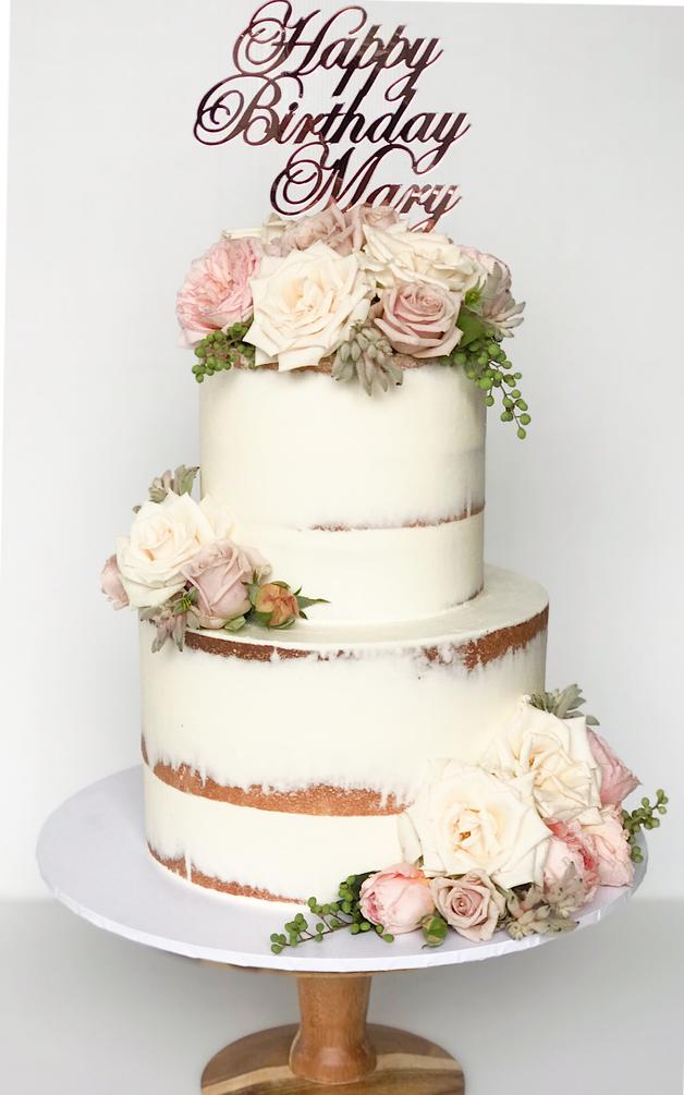 Adult Birthday Cake Design 33