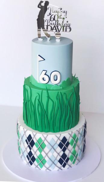 Adult Birthday Cake Design 26