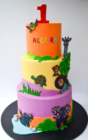 Kids Birthday Cake Design 28