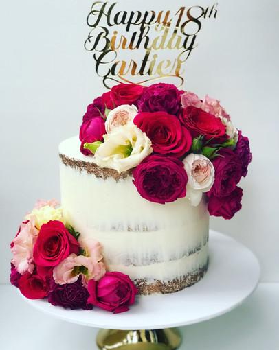 Adult Birthday Cake Design 21