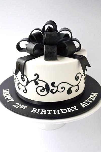 Adult Birthday Cake Design 27