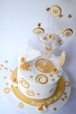 Adult Birthday Cake Design 34