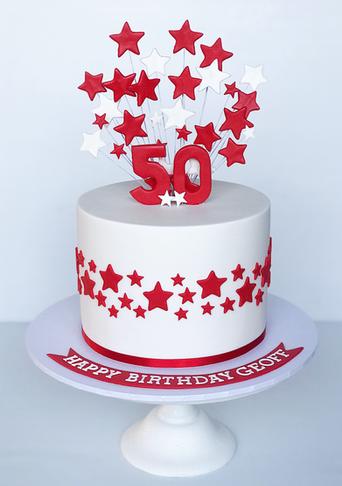 Adult Birthday Cake Design 35