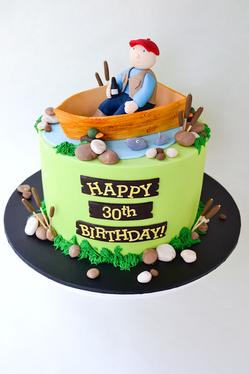 Adult Birthday Cake Design 11