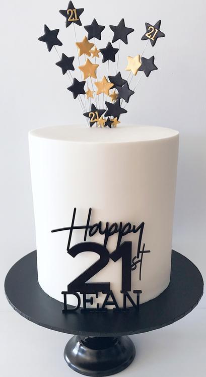 Adult Birthday Cake Design 3