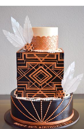 Adult Birthday Cake Design 6