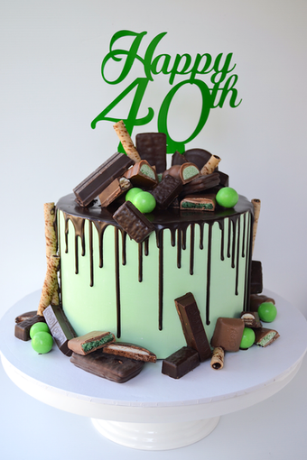 Adult Birthday Cake Design 22