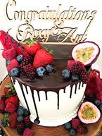 Engagement Cake Design 10