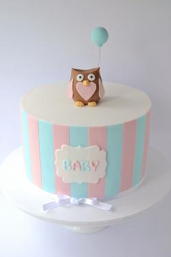 Baby Shower Cake Design 6
