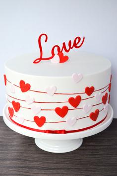 Engagement Cake Design 1