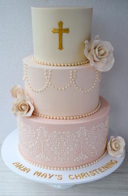 Christening Cake Design 11