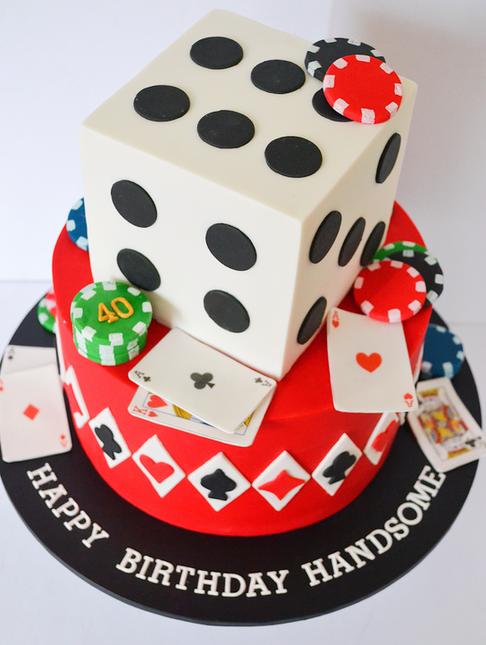 Adult Birthday Cake Design 7
