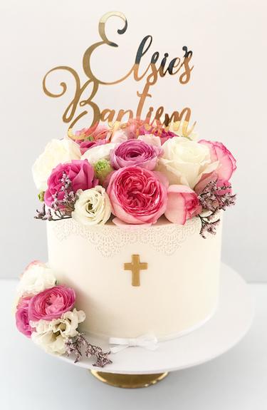 Christening Cake Design 14