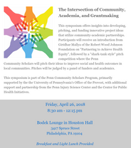 The Intersection of Community, Academia, and Grantmaking - RSVP Below!