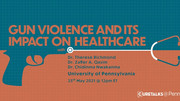 Panel Discussion: Gun Violence and its Impact on Healthcare