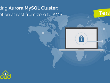 Existing Aurora MySQL Cluster: Encryption at rest from zero to KMS