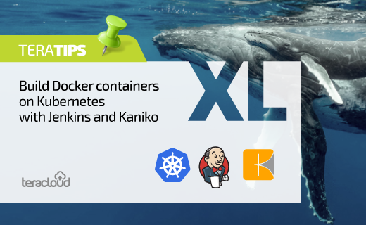 Build Docker containers on Kubernetes with Jenkins and Kaniko