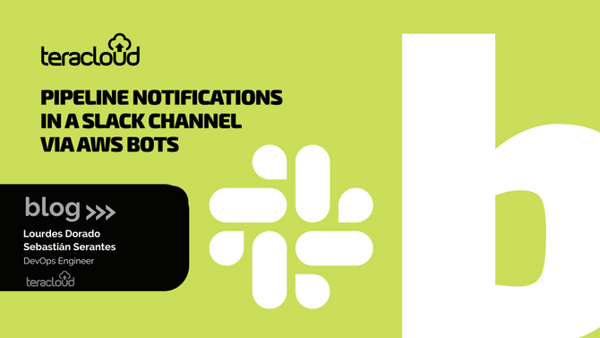 Pipeline notifications in a slack channel via AWS bots