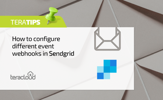 How to configure different event webhooks in Sendgrid