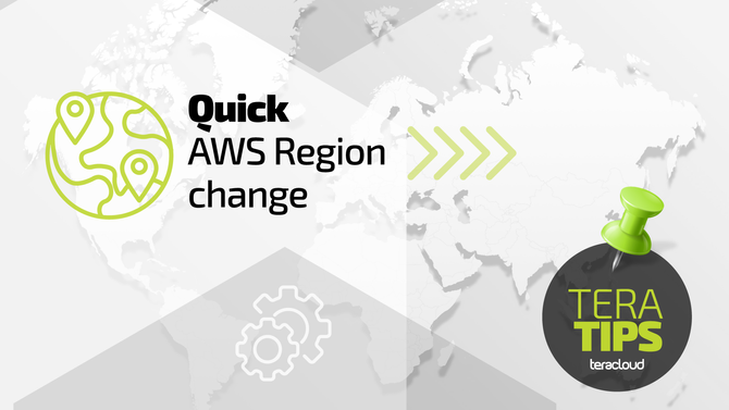 Quick AWS Region change