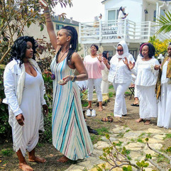 Aura Clearings at Queen Afua Retreat Eve