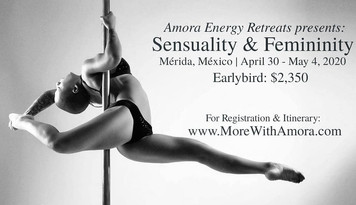 Sensuality & Femininity: Energy Healing Pole Retreat