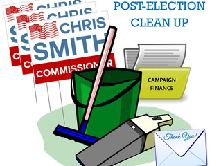 Post-Election Clean Up