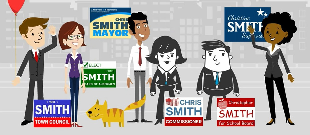 Chris Smiths and Election Signs