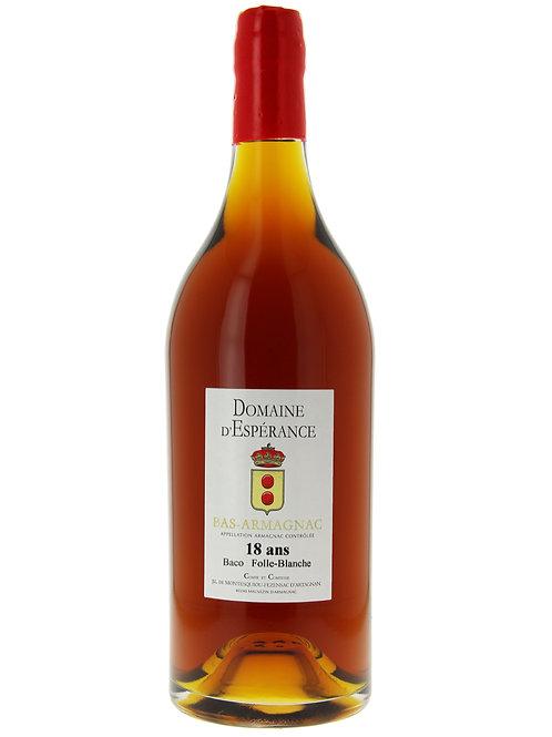Armagnac 18 ans d'âge (brut de fût, 47% d'alcool )