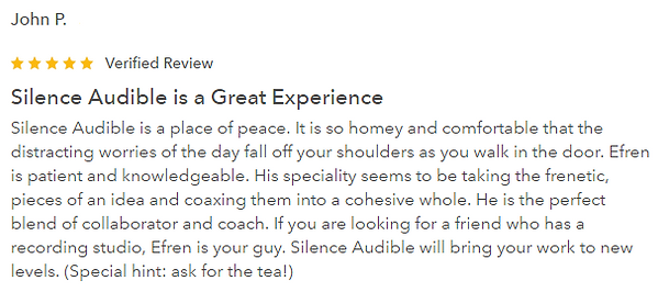 Silence Audible Review