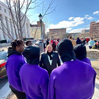 Russell Gilbert Chattanooga Mayor 2021 MLK March