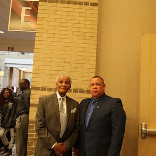 Russell Gilbert Chattanooga Mayor 2021 and Mr. Freeman