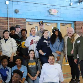 Russell Gilbert Chattanooga Mayor 2021 brainerd high school volunteer project